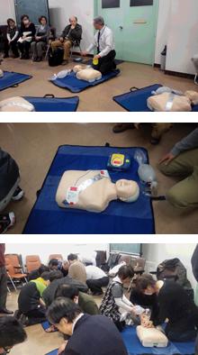 救急救命セミナー AED講習会